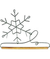 "6"" Snowflake Holder (Grey)"
