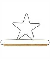 "6"" Star Holder (Grey)"