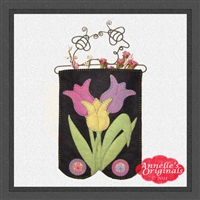 Mini-More Pastel Tulip Trio (Gift Holder & Hanging)