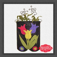 Mini-More Jewel Tulip Trio Candle Mat