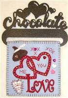Mini-Me Chocolate Kiss Candle Mat