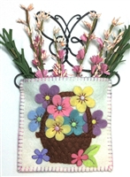 Mini-Me Pastel Flower Basket Gift Holder