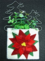 Mini-Me Poinsettia Gift Holder