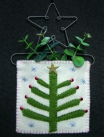 Mini-Me Primitive Tree Gift Holder