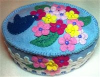 Spring Dreams Pincushion Precut Wool Felt Pieces
