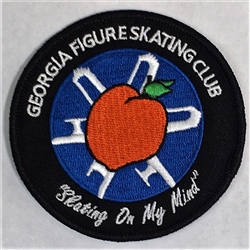 Georgia Figure Skating Club Patch
