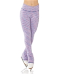 Blue-Lilac Strata Skating Leggings - Mondor 4551