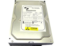 "White Label 160GB 8MB Cache 7200RPM SATA 3.5"" Desktop Hard Drive - New w/1 year Warranty"