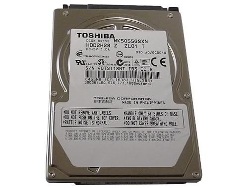 Goharddrive Com Toshiba 500gb Mk5055gsx 5400rpm Sata2