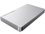 LaCie 1TB Porsche Design USB 3.0 External Mobile Drive for Mac STET1000400 - [Factory Recertified] w/1 Year Warranty