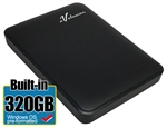 Avolusion 320GB USB 3.0 Portable External Hard Drive (WindowsOS NTFS Pre-Formatted)  HD250U3-Z1 - Retail w/2 Year Warranty