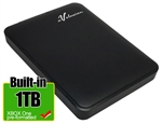 Avolusion 1TB USB 3.0 Portable External XBOX One Hard Drive (XBOX One Pre-Formatted)  HD250U3-Z1 - Retail w/2 Year Warranty