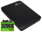 Avolusion 320GB USB 3.0 Portable External XBOX One Hard Drive (XBOX One Pre-Formatted)  HD250U3-Z1 - Retail w/2 Year Warranty