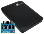 Avolusion 750GB USB 3.0 Portable External PS4 Hard Drive (PS4 Pre-Formatted)  HD250U3-Z1 - Retail w/2 Year Warranty