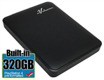 Avolusion 320GB USB 3.0 Portable External PS4 Hard Drive (PS4 Pre-Formatted)  HD250U3-Z1 - Retail w/2 Year Warranty