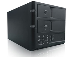 iStarUSA v7AGE220-SAU 2-Bay Trayless USB 2.0 & eSATA RAID Box External Hard Drive Enclosure - Black