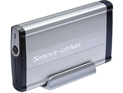 "Smart Drive HD6-U2K Aluminum USB 2.0 3.5"" Portable External HDD Enclosure W/ Auto Backup - Retail"