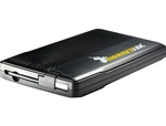 "HornetTek HD-209-U2S Travel Lite 2.5"" USB Portable External Hard Drive Enclosure w/Built-in USB 2.0 Cable - Retail"