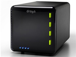 Data Robotics DR04DD10 Drobo 4 Bay USB 2.0 & FireWire 800 Fully Automated SATA Robotic Storage Array