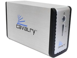 Cavalry X2-RAID 3TB 64MB Cache 2-Bay RAID 0,1,JBOD,BIG eSATA &USB 2.0 External Hard Drive - w/3 year warranty (powered by Western Digital WD15EARS 1.5TB SATA Hard Drive)