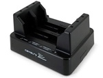 "Cavalry ""Retriever"" Series EN-CAHDD2BU3C-ZB 2.5"" & 3.5"" Black Standalone SATA HDD Duplicator + USB 3.0 Dual-Bay Dock - Retail"