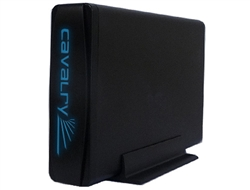 Cavalry CAXM 2TB 7200RPM 64MB Buffer USB 3.0 & eSATA External Hard Drive (Black) w/ 1 year warranty - Retail