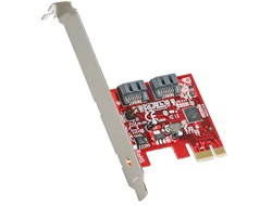 StarTech PEXSAT32 2-Port PCIe SATA 6.0Gbps HBA (Host Bus Adapter) Controller Card - Retail