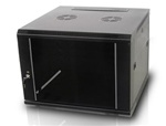 iStarUSA WM945B 9U 450mm Depth Wallmount Server Cabinet - Black