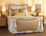 Sheridan Upholstered Iron Bed