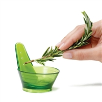 Chef'n Zipstrip Herb Stripper easily strips, collects, & measures | LaBelle's General Store
