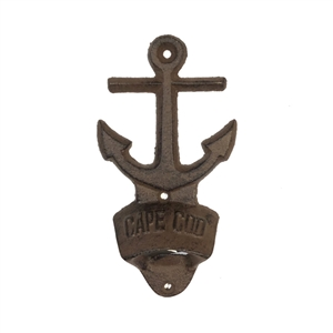 Anchors Away Cast Iron Bottle Opener | LaBelle's General Store