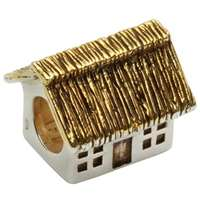 Tara's Diary Irish Cottage Charm Bead
