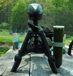SplattRak Paintball Marker Stand - Black