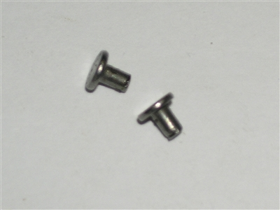Follower spring rivets