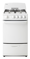 "Danby 20"" 2.4 cu. ft. Gas Range - White"