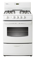 "Danby 3 cu.ft. 24"" Electric Range - Window - White"