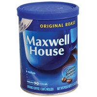 Maxwell House Coffee Diversion Safe
