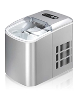 Sunpentown Portable Ice Maker - Silver