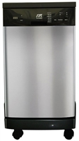 "Sunpentown Energy Star 18"" Portable Dishwasher"