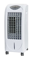Portable Evaporative Air Cooler with 3D Cooling Pad