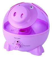 Sunpentown Pink Pig Ultrasonic Humidifier