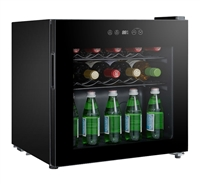 Sunpentown 16 Bottle Single Zone Compressor Wine Cooler