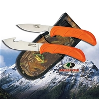 Outdoor Edge Wild-Pair Skinner & Caper Knives w/Sheath