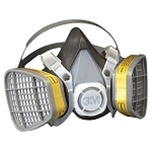 3M Half-Face Disposable Respirator
