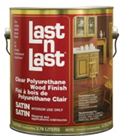 Absolute Coatings Last n Last Clear Polyurethane Wood Finish 550VOC