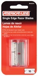 "American Line Regular Duty Single Edge Blades with Safety Dispenser .009"" 10PK"