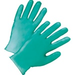 West Chester 300 Count Heavy Green Vinyl Gloves