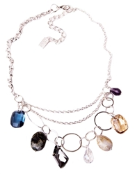 Crystal Fall Necklace