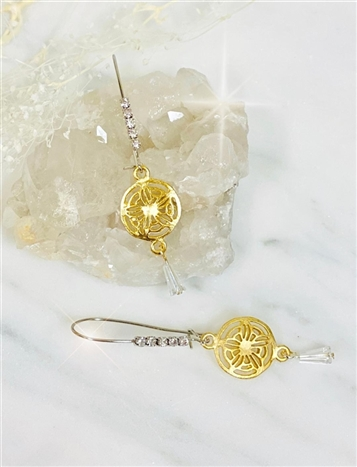 Eclipse Threader Earring
