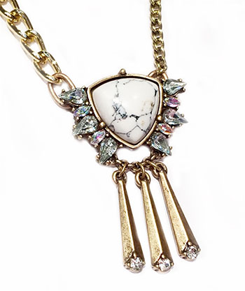 Gemma-GLD Necklace
